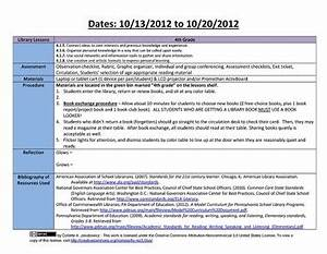 elementary library lesson plan templates with common core With lesson plan template using common core standards