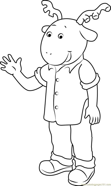coloring page  arthur coloring pages coloringpagescom