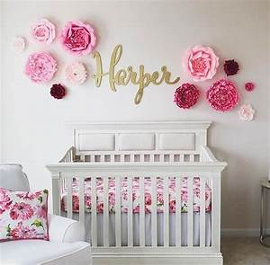 large name sign, calligraphy laser cut nursery sign