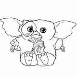 Coloring Gremlins Gizmo Coloriage Imprimer Dessin Gratuit Colorier Sheets Azcoloriage Enregistree Depuis sketch template