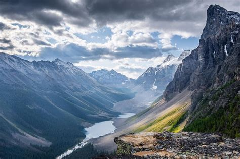 #earth Just Around The Bend From The Famous Moraine Lake