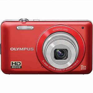 Olympus VG-120 Digital Camera (Red) 228185 B&H Photo Video