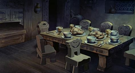 empty backdrop  snow white disney crossover image