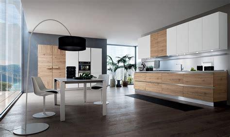 images des cuisines modernes cuisine moderne blanche et bois le bois chez vous
