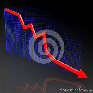 Diagram With Red Arrow Stock Illustration - Image: 47850390