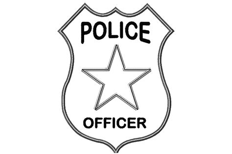 police badge craft for preschool 10 best amp car coloring pages your toddler 714