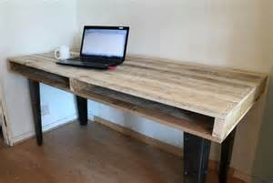 wood pallet computer desk dining table 101 pallets