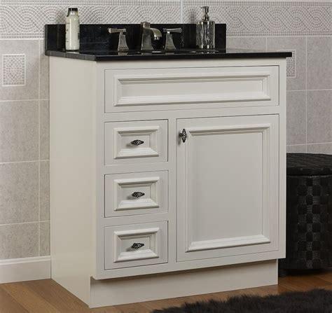 30 Bathroom Vanity by Jsi Danbury White Bathroom 30 Quot W Vanity Base Solid Wood