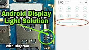 Display Light Problem Solution