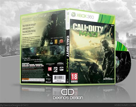 call  duty modern warfare  xbox  box art cover