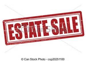 Estate Sale Clip Art