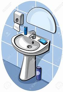 Bathroom sink clipart - Clipground