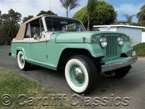 commando jeepster 1967 used jeep jeepster commando continental at cardiff