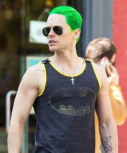 Jared Leto   13 Celebrities With Green Hair   Us Weekly