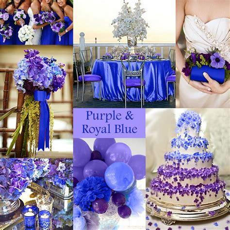 Purple and Royal Blue Wedding For my wedding