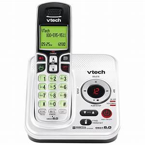 Vtech Dect 6 0 Expandable Cordless Phone W   Digital