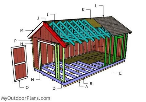 12x24 storage shed plans building a 12x24 shed backyards in 2019 12x24 shed
