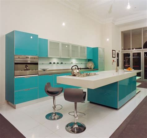 turquoise kitchen island the beauty of having a turquoise kitchen island