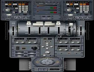 Fokker 50 New Standard Panel For Fsx