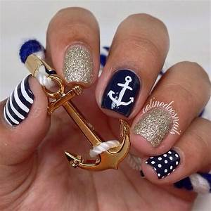 10 Nautical Nail Designs You Need In Your Life ...