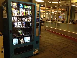Office Supply Vending Machines Introduced In Library ...