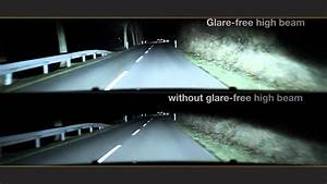 Glare-free High Beam - Driving With High Beam Without Dazzling Others