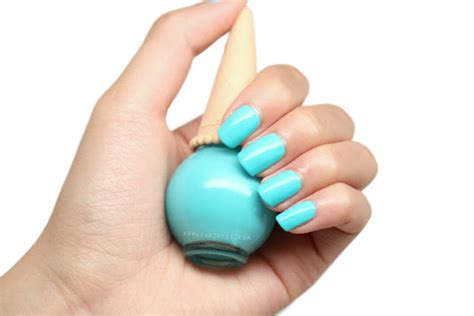 Etude House Ice Cream Nails In Blue Mint