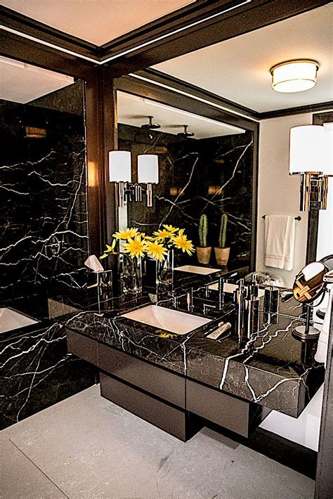 dark glamour    kips bay show house modern