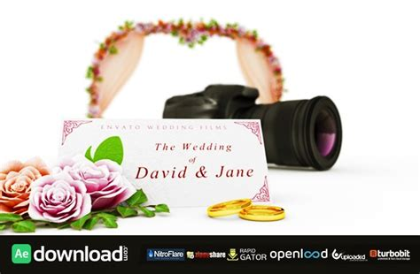 wedding film intro free download videohive template free
