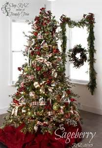 2015 raz christmas trees the ribbon christmas trees and