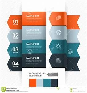 Numbered Banner Design Stock Vector  Illustration Of