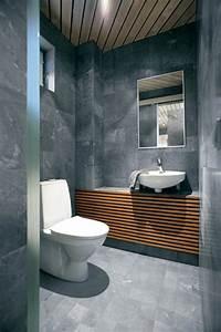 plafond salle de bain peinture et style en 40 idees With salle de bain design avec peinture antidérapante