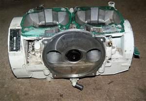 Find Sea Doo 787 800 Crank Case Crankcase Engine Block Xp