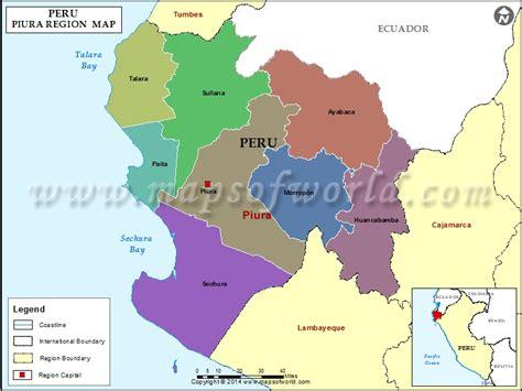 map  piura region peru