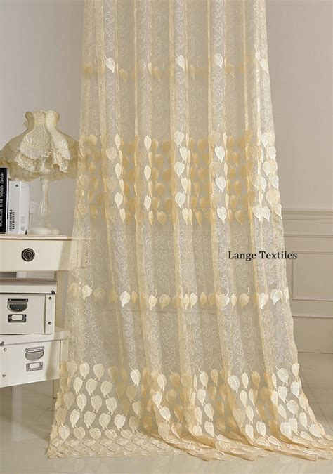 sheer voile curtain fabric free shipping luxury embossed embroidery voile curtains