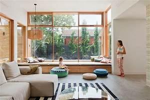 Fensterbank Zum Sitzen Bauen : ventanas modernas asiento sal n ideas para el hogar ~ Lizthompson.info Haus und Dekorationen