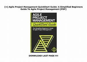 Agile Project Management Quickstart Guide  A Simplified