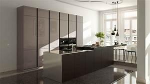 Meuble Laqué Beige : cuisine laque beige cuisine ikea beige laque 13 orleans ~ Premium-room.com Idées de Décoration