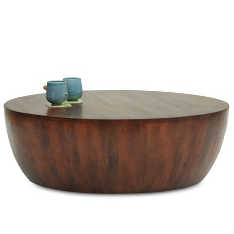 drum style coffee table drum coffee table thearmchair