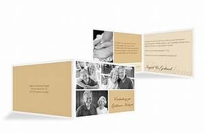 Einladungskarten Für Hochzeit : einladungskarten f r die goldene hochzeit edel individuell ~ Yasmunasinghe.com Haus und Dekorationen