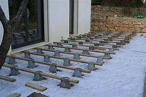 nivremcom construction terrasse en bois sur plot beton With terrasse sur plots beton