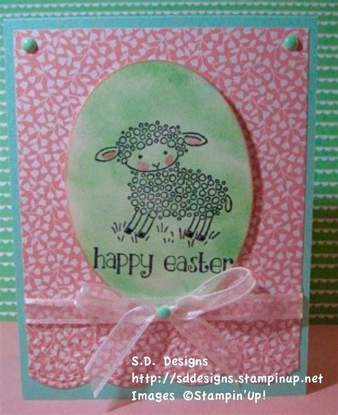 easter lamb stamp set  stampin  check