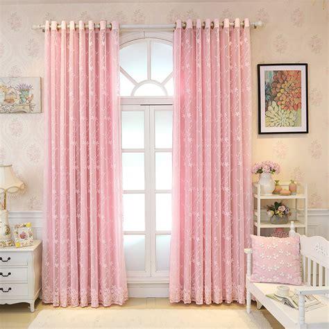 Light Pink Drapes - princess baby light pink curtains blackout drapes sheer