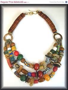 Handmade African Beads Necklace
