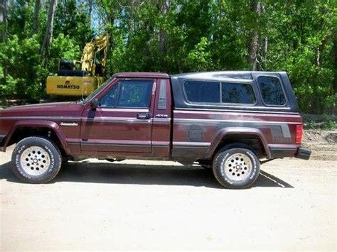 jeep comanche 4x4 find used 1988 jeep comanche 4x4 4 0l 5 spd swb a c tilt