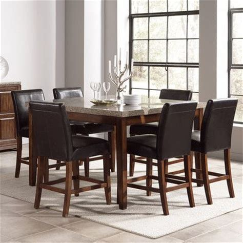 granite top high table dining room wayfair dining