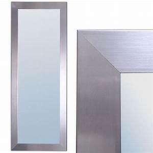 Einfacher Spiegel Ohne Rahmen : spiegel ginos xl silber rahmen glatt wandspiegel real ~ Bigdaddyawards.com Haus und Dekorationen