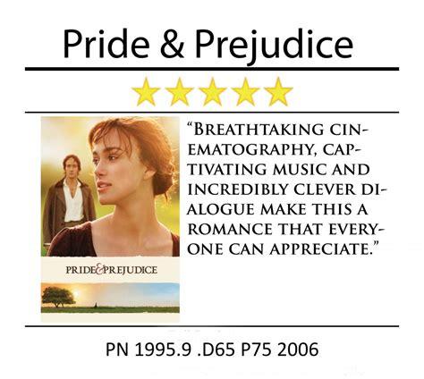Movie Review  Pride And Prejudice  Media Center Hbll
