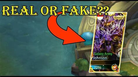 New Johnson Legendary Skin! Real Or Fake