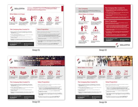 one pager template design a one pager powerpoint template of information freelancer